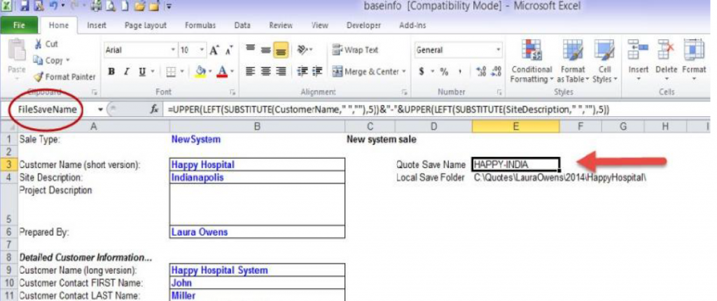 There Are Several Options You Can Add In The Same Manner (by Defining A  Named Range And Populating It With An Excel Formula) To Make Your File Name  Even ...